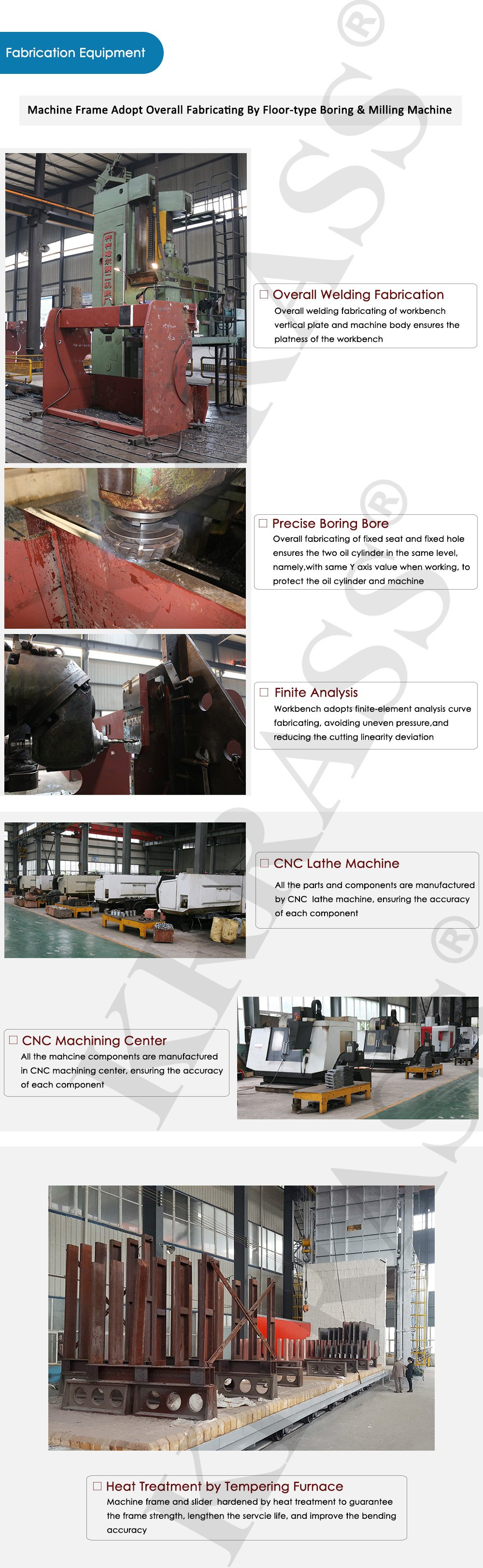 fabrication equipment