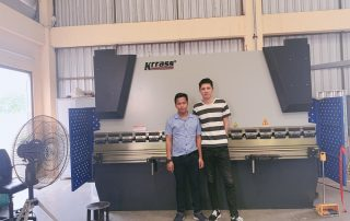 Hydraulic Press Brake in Thailand customer factory(Cases)