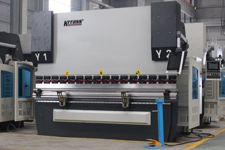 MB8 CNC Automatic Servo Press Brake – DA58T (3+1 Axis)
