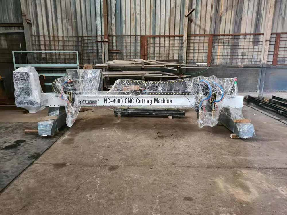 South Africa purchased plasma cutting machine for production
